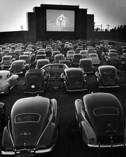 Drive-In Theater in San Fransisco, 1948.